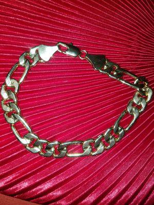 14 k gold bracelet for Sale in Hanford, CA