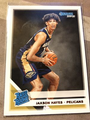2019-20 Donruss Jaxson Hayes Rated Rookie Card No. 207 for Sale in Fresno, CA
