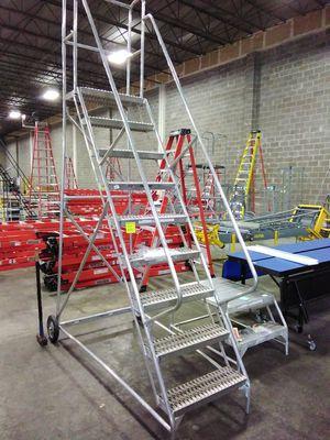 9-Step Wheelbarrow Ladder for Sale in Atlanta, GA