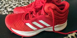 Adidas boys size 5 lightweight light up shoes for Sale in Paradise, NV