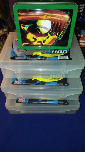 4 sports card / Pokemon card storage cases $3 for all for Sale in Garland, TX