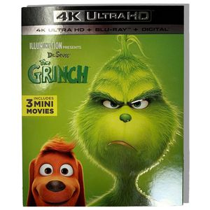 The Grinch (4K Ultra HD + Blu-Ray + DIgital Code) for Sale in Costa Mesa, CA
