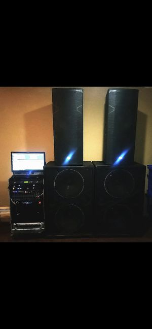 PA system like new for Sale in Victoria, TX