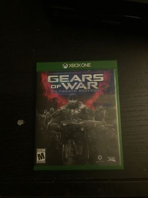 Gears of war Ultimate Edition for Xbox one for Sale in Vista, CA