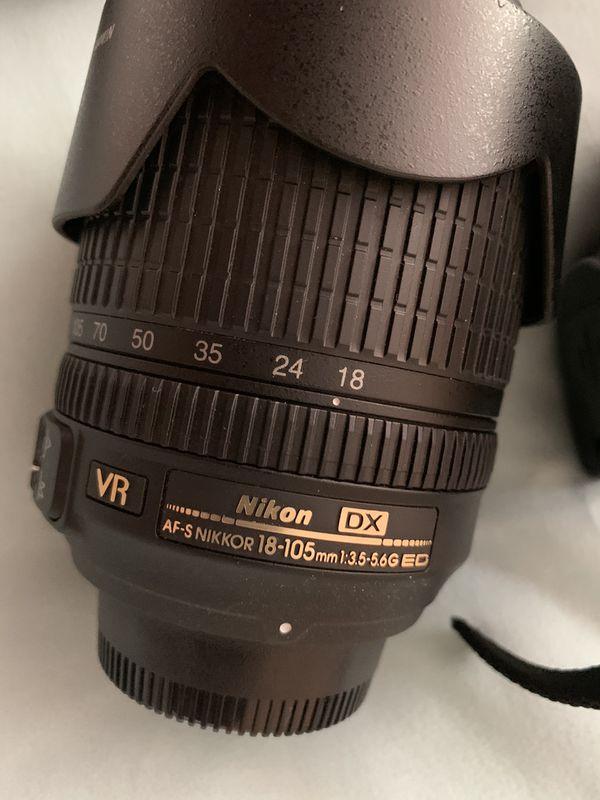 Nikon D5100 Camera W/ Lens