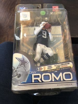 Tony romo nfl elite series 2 action figure for Sale in Spring Hill, FL