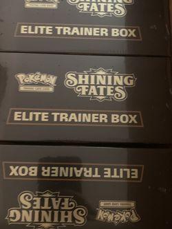 Shining Fates Elite Trainer Box ETB Pokemon Brand New Sealed for Sale in Seattle,  WA