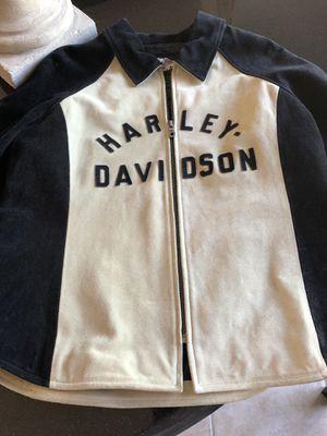 Authentic HD leather jacket fits woman M-L / man medium for Sale in Kailua-Kona, HI
