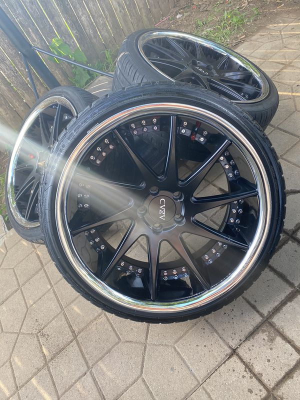 20in Staggered Wheels