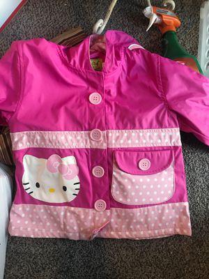 Girls 2t hello kitty rain coat for Sale in Philadelphia, PA