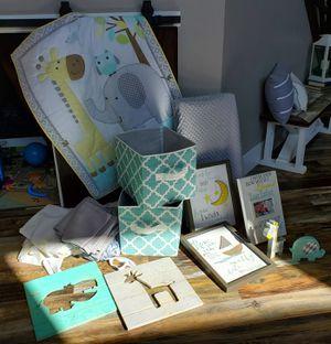 Bueatiful gender neutral baby room decor in one for Sale in Herriman, UT
