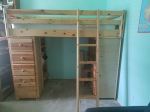 100 % wood twin Bunk bed for Sale in Austin, TX
