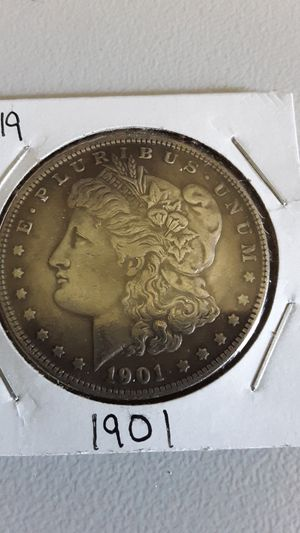 1901 Morgan Silver Dollar Coin for Sale in Greenville, OH