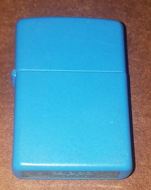 Light Blue Zippo Lighter for Sale in Cranford, NJ