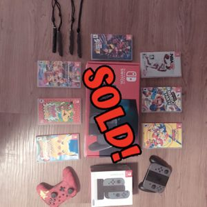 Nintendo Switch Games And Accessories for Sale in Glendale, CA