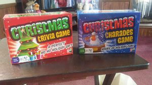 Christmas Trivia and Charades Games for Sale in Alexandria, VA