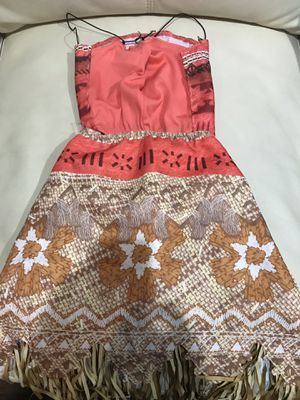Moana outfit- used only once for Sale in Garland, TX