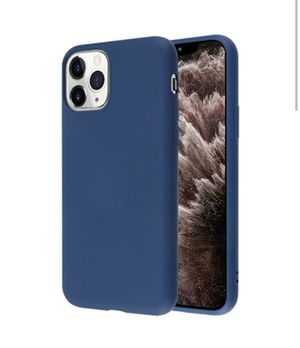 Blue silicone case for iPhone 11 Pro Max for Sale in Burbank, CA