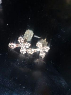 18K Gold Cross Earings. for Sale in Lewisburg, PA