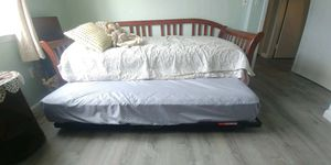 Good Quality Wood Day Bed with Trundle for Sale in Matawan, NJ