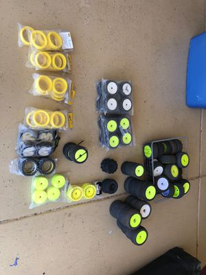 Used, Aka, proline, Losi, 1/8 scale rc Buggy & truggy tires for Sale for sale  Peoria, AZ