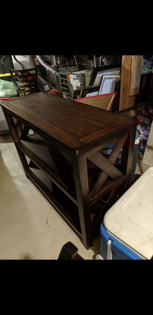 Wood console table for Sale in Bellevue, WA