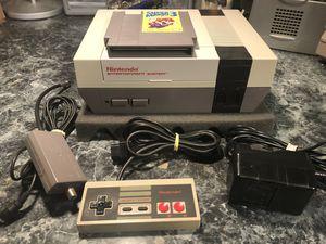 Nintendo NES with Super Mario Bros 3 for Sale in Manassas, VA