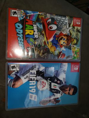 2 nintendo switch games for Sale in Carrollton, TX