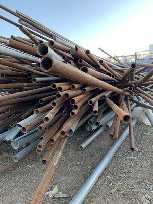 Steel poles. for Sale in Phoenix, AZ