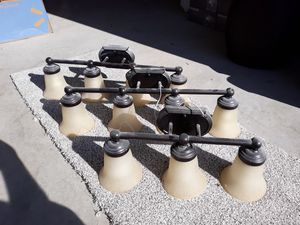 Oil rubbed bronze vanity lights for Sale in Lebanon, TN