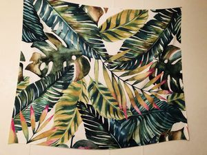 Large Tropical Plants Jungle Theme Leaves Nature Art Wall Tapestry for Sale in Houston, TX