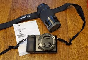 Sony 6000 digital camera! for Sale in Cary, NC