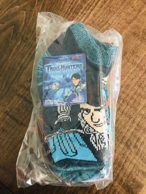 NWT 6 pack Troll Hunter socks size M (9-2.5) 11 packs available $5 each or 2 for 8 for Sale in Newton, NC