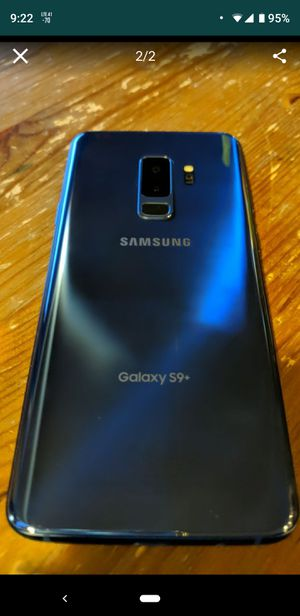 Samsung GALAXY S9 PLUS *BLUE* for Sale in Snohomish, WA