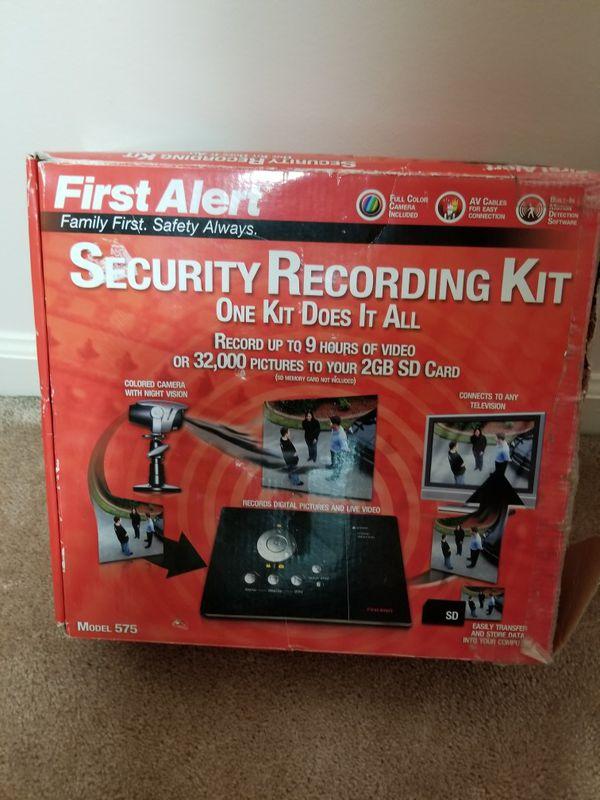 Security recording kit