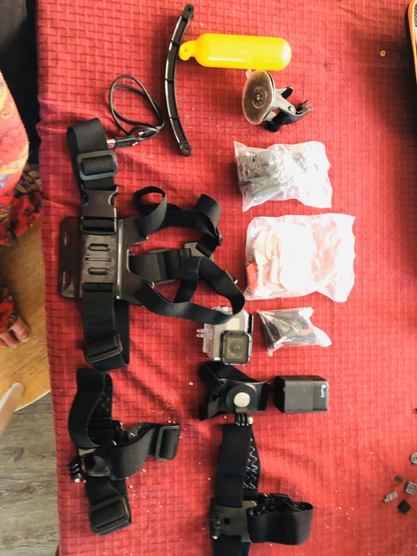 GoPro hero5 black ( with accessories and accessories case )