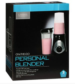 Living Solution's Personal Blender for Sale in Los Angeles, CA