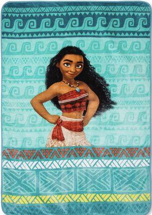 "Disney Moana Plush Blanket ~ 62"" x 90"" for Sale in Monroe, NC"