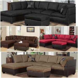 LARGE SECTIONAL SOFA IN DIFFERENT COLORS (DELIVERY TODAY? for Sale in Austin, TX