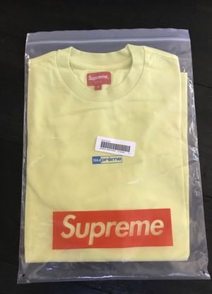 Supreme Invert S/S Top Light Yellow (Small) for Sale in Long Beach, CA