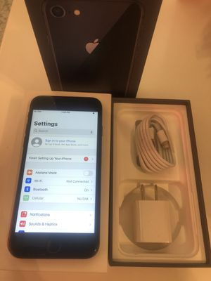 IPHONE 8 BLACK 64 GB UNLOCKED FOR ANY CARRIER for Sale in Bakersfield, CA