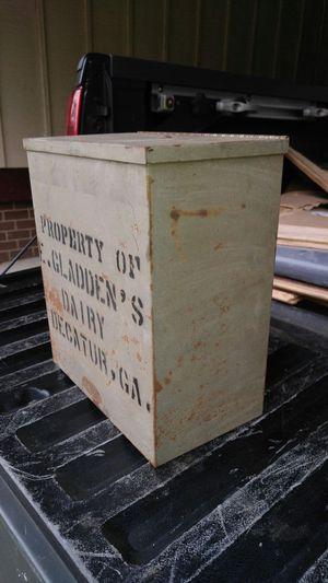 Vintage Decatur milk box/cooler for Sale, used for sale  Decatur, GA