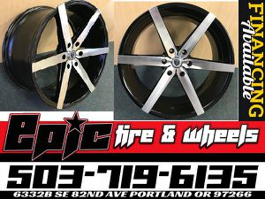 22 Inch 6x139.7 Wheels In Stock We Finance 90 days same as cash for Sale in Portland, OR