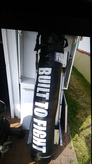 Built to Fight Punching Bag for Sale in Alhambra, CA