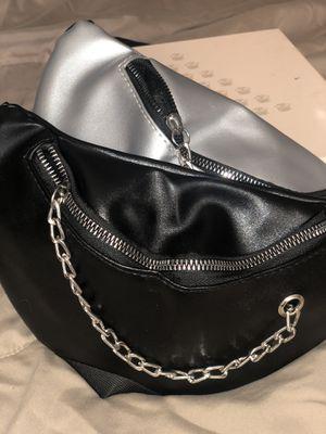 Women's Hobo Chain Waist Belt Bag - Black for Sale in Philadelphia, PA