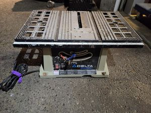 "delta 10"" table saw for Sale in Tacoma, WA"