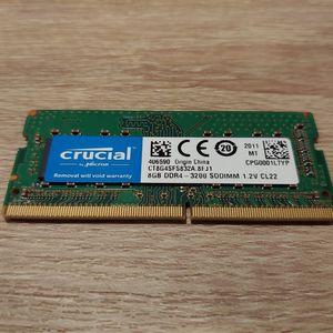 Crucial 8 GB RAM (1 x 8 GB) DDR4-3200 for Sale in San Francisco, CA