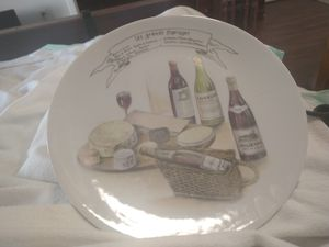 Paris plates. x 10 for Sale in Richland, WA
