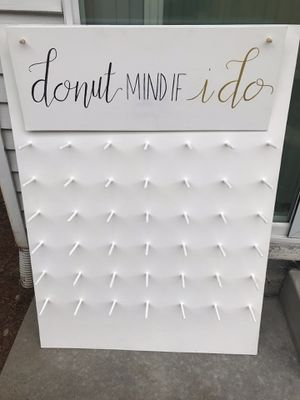 WEDDING DONUT WALL for Sale in Lake Oswego, OR