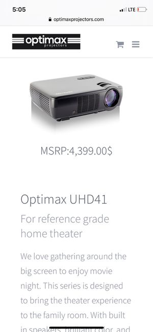 Ultra High Definition Projector for Sale in Lynwood, CA